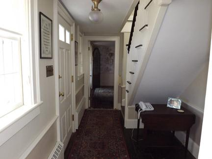 Hallway Leading to Twin Bedroom and Pilot House