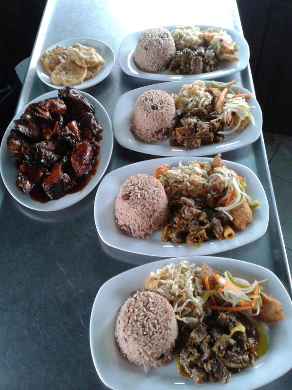 I am a caterer as well so these are some of my dishes.