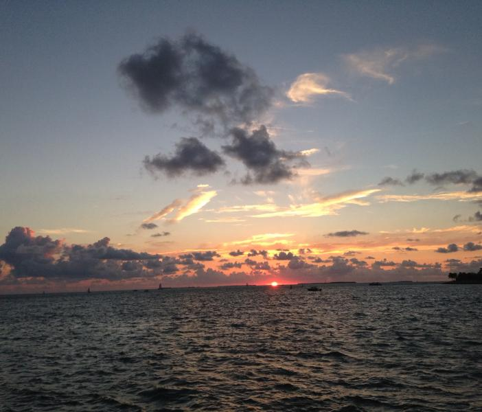 Every day Sunset or Sunrise in Key West