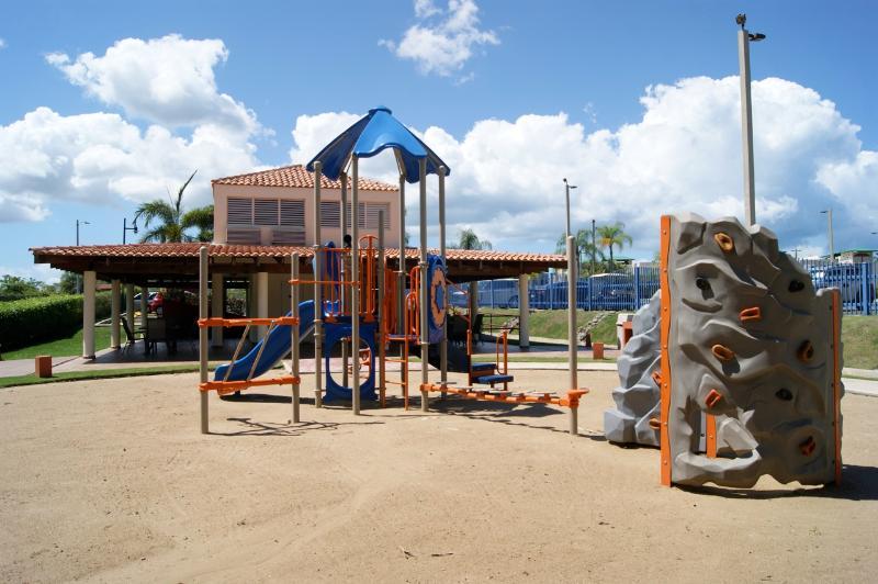 Kids playground area.