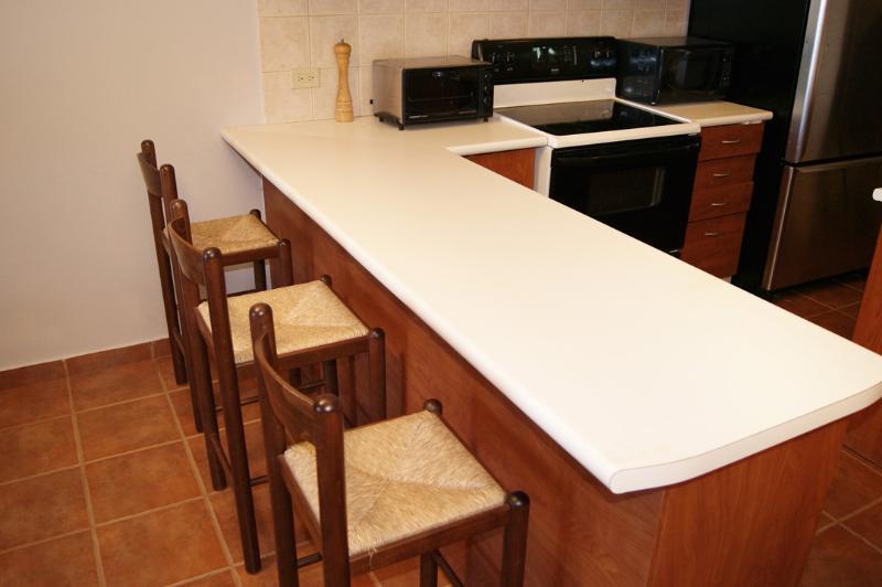 Kitchen counter seats 3