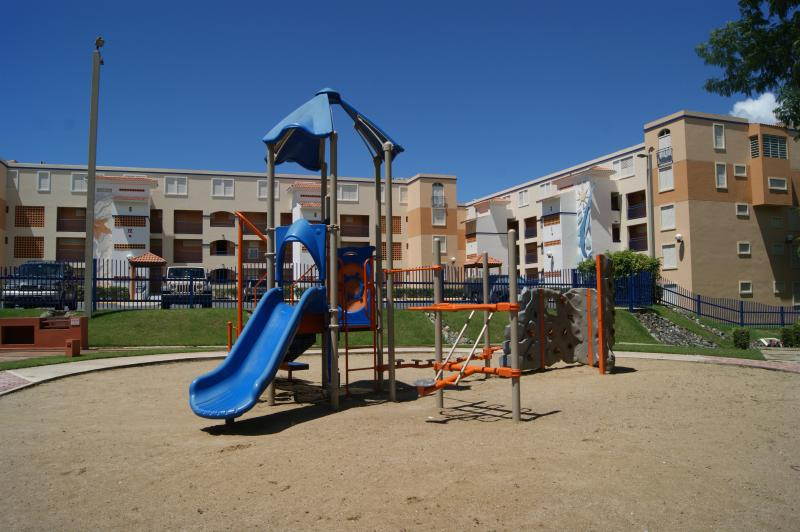 Kids playground area.