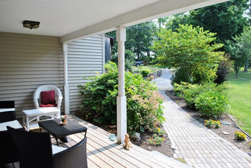 Overdekte veranda