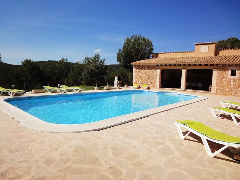 Finca Es Cap des Puig - Pool Area