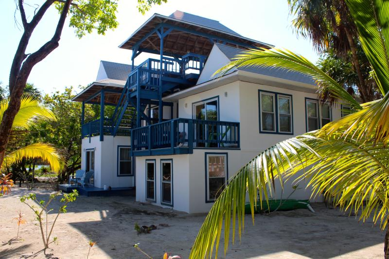 The Tradewinds offers deck space and ocean breezes