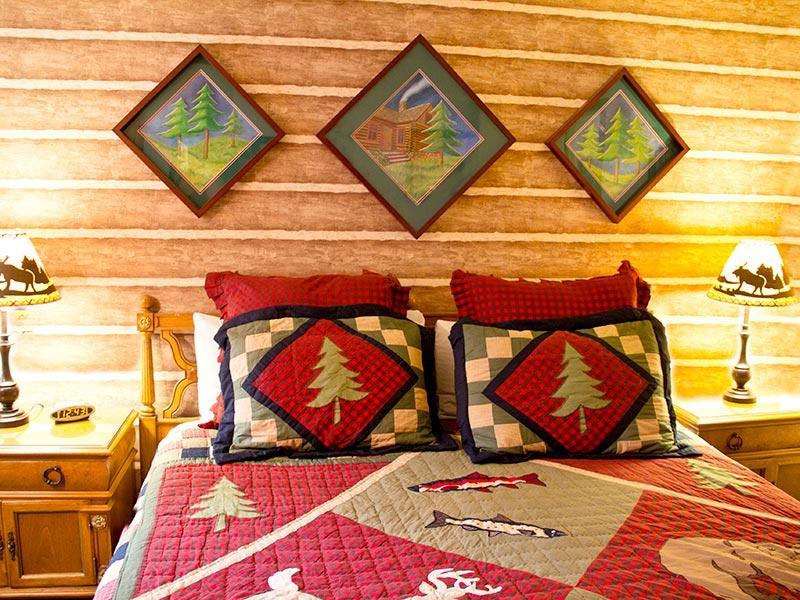 Dormitorio en la planta baja (dirección contraria)