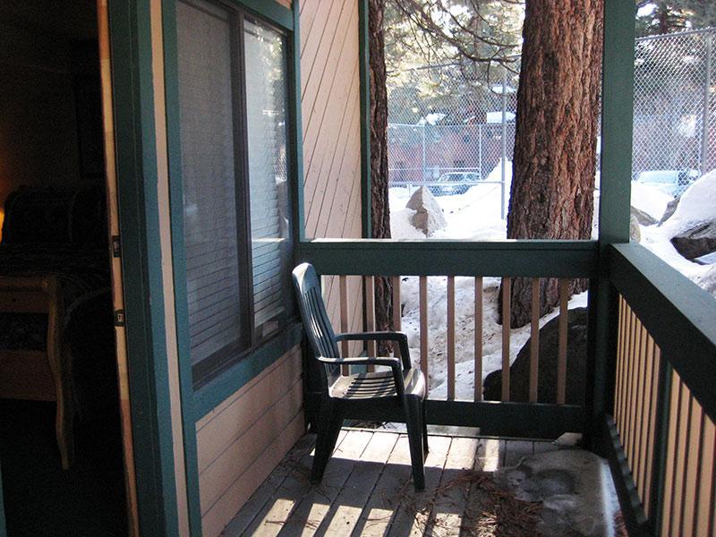 Deck privado dormitorio Master