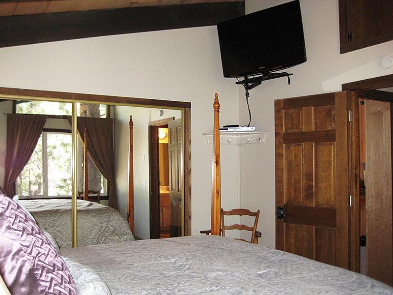 Master Bedroom (Other Direction) w/Flat Screen TV