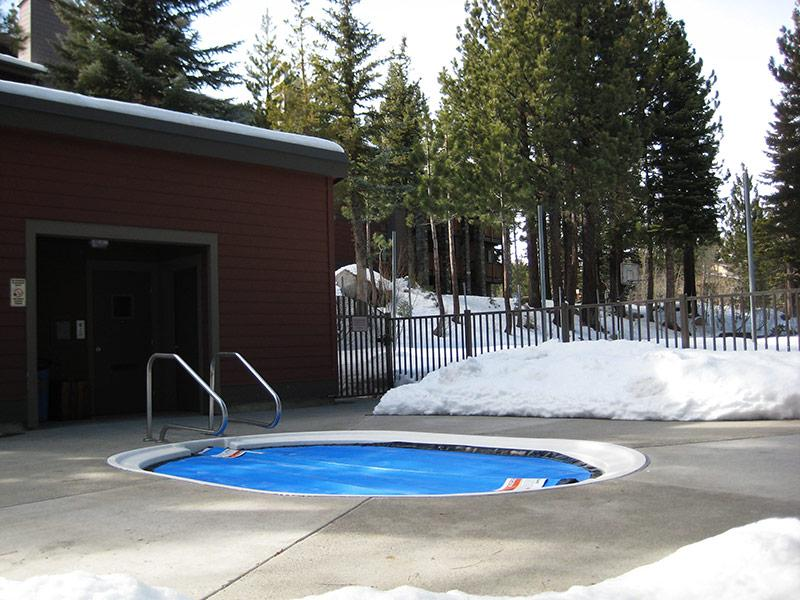 One of Six Outdoor Spas (Year-Round)