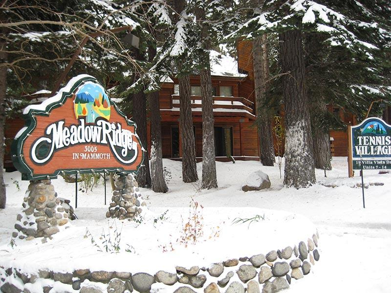 Meadow Ridge Entrance on Meridian Blvd.