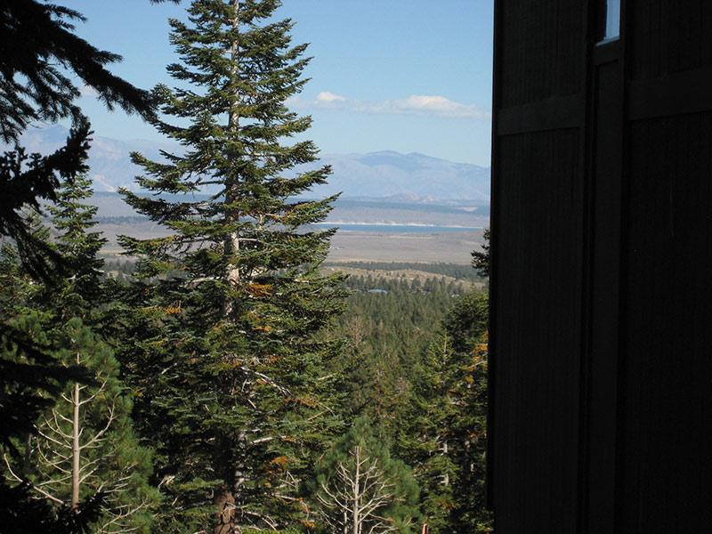 Complex Overlooks Mountains and Crowley Lake