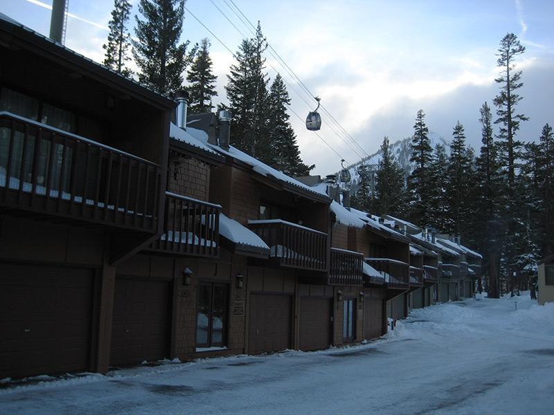 Outside of Unit with Gondola and Canyon Lodge