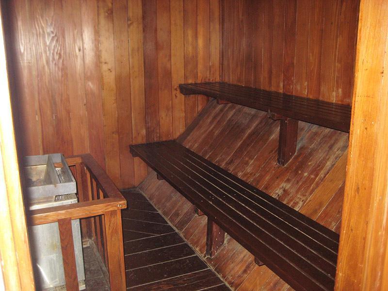 Courchevel Year-Round Sauna