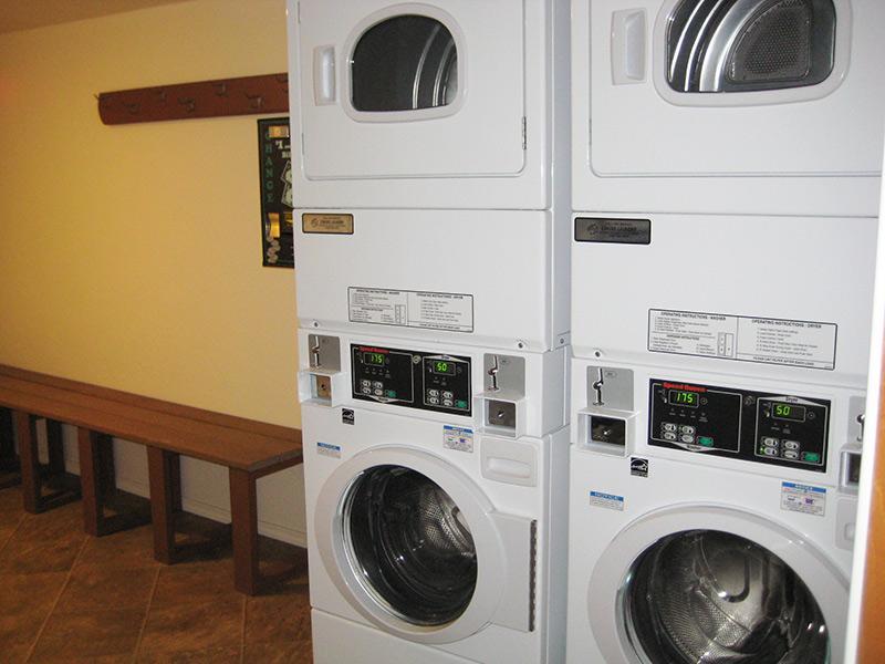 Courchevel Laundry Room
