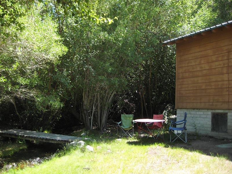 Creek Lawn and Cabin