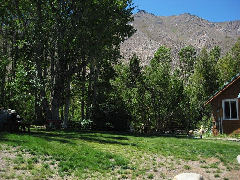 Grounds and Surrounding Mountains