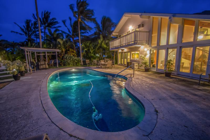 Enjoy lounging at your own private pool.
