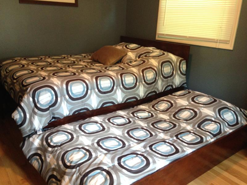 habitación azul - camas matrimoniales y dobles