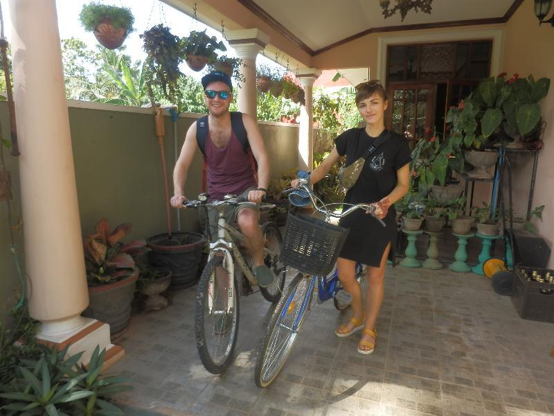onze gasten kunnen ook gebruik maken van onze service, fietsen verhuur
