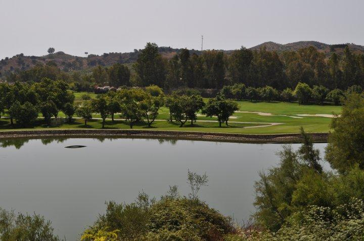 The nearest golf course - 5 minutes from the apartment