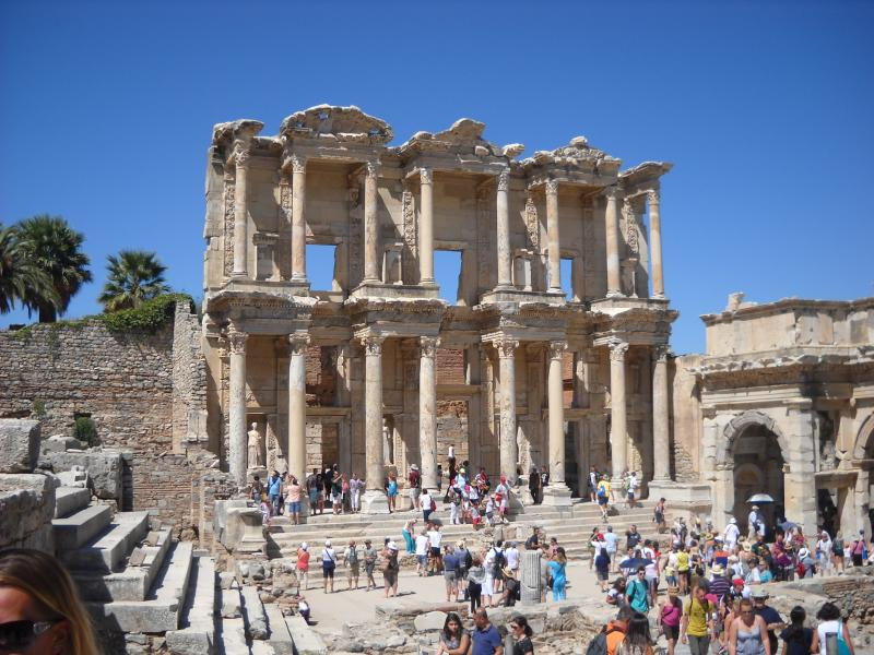 Day trip possible at Ephesus in Turkey