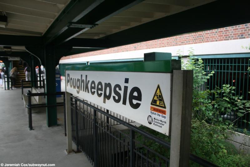 La estación de tren de Poughkeepsie va directamente a la estación Grand Central en Manhattan