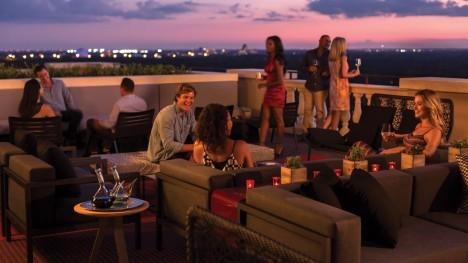 WINE DINE AND SHINE AND WATCH FIRE WORKS FROM DISNEY AT CAPA AT THE FOUR SEASONS ORLANDO.