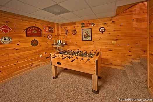 Sala de juegos en Fox Ridge