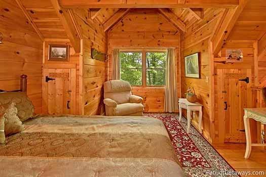 Dormitorio loft en Fox Ridge