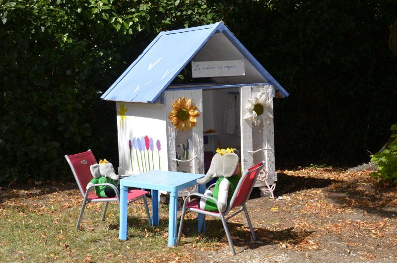 Kinder kleines Haus