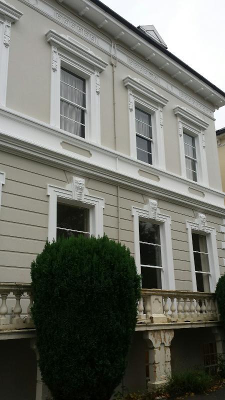 Beautiful, Georgian facade.