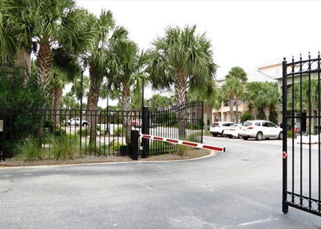 Community Gated Entrance