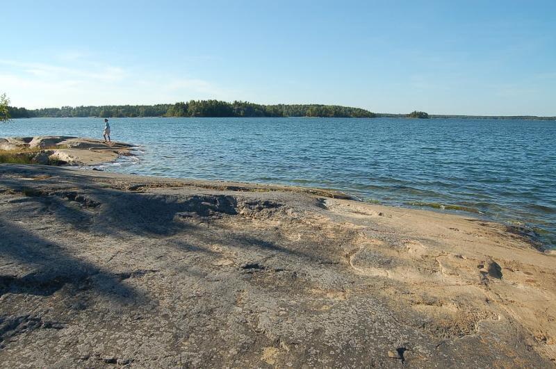 Ängsö National Park (this island can be reached with the rowing boat with 4 hp motor incl in rent)