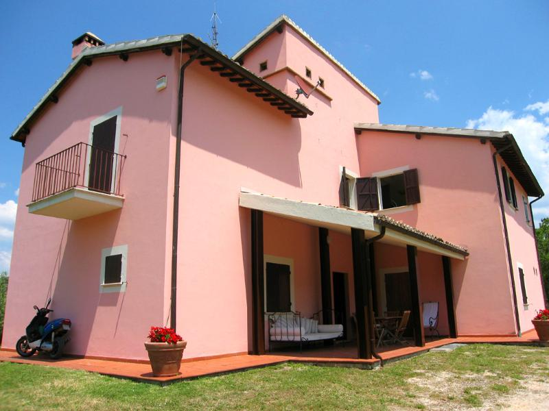 The main Villa - the Lodge is to the side and out of sight.