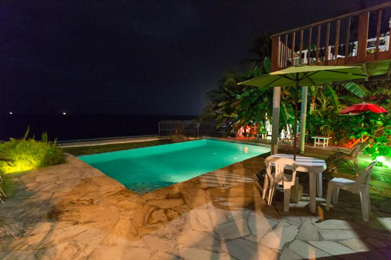 Pool at Night as it is open to 10:30 pm