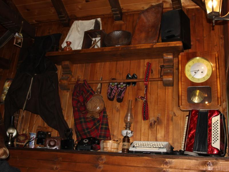 Authentic decoration of the tavern