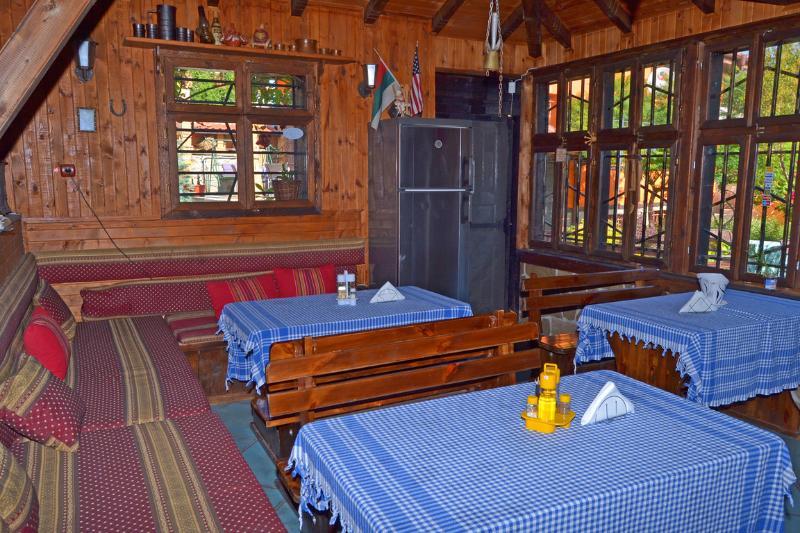 Inside the tavern