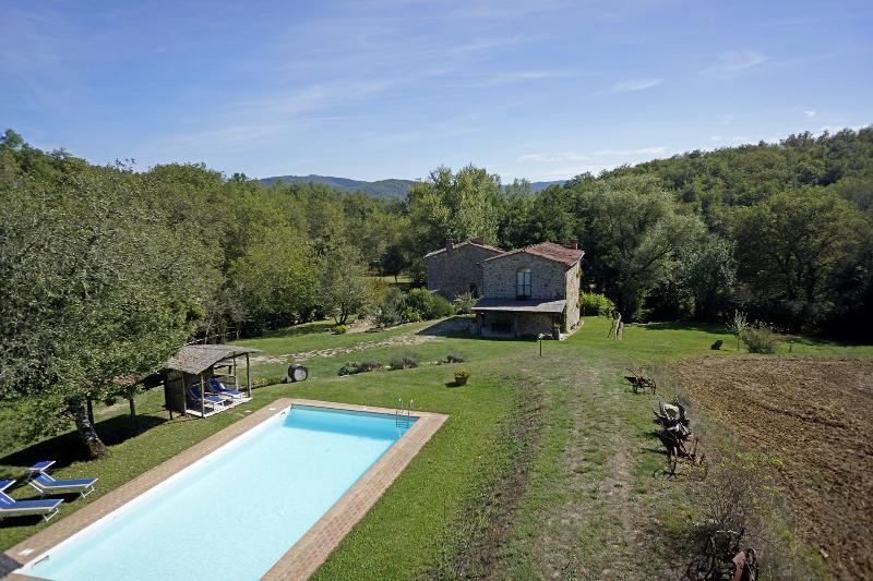 La Doccia, holiday rental in Mercatale Valdarno