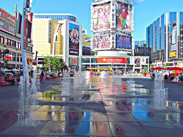 Walk to nearby Eaton Centre, Dundas Square, Queens' Park and Yorkville Shopping.