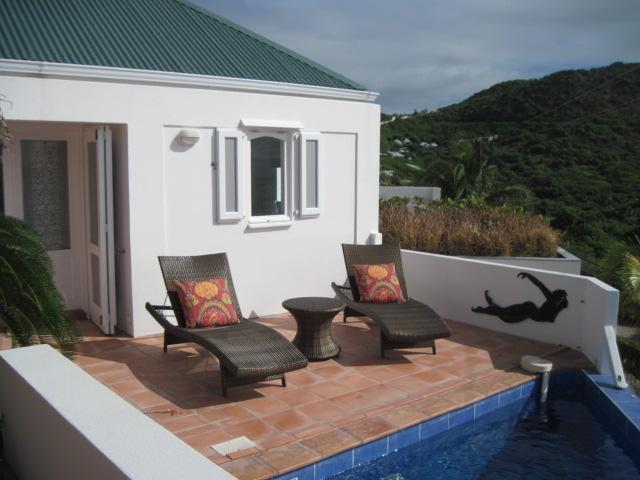 Romantic St. Barts Villa Steps from Beach, 2 bedrooms