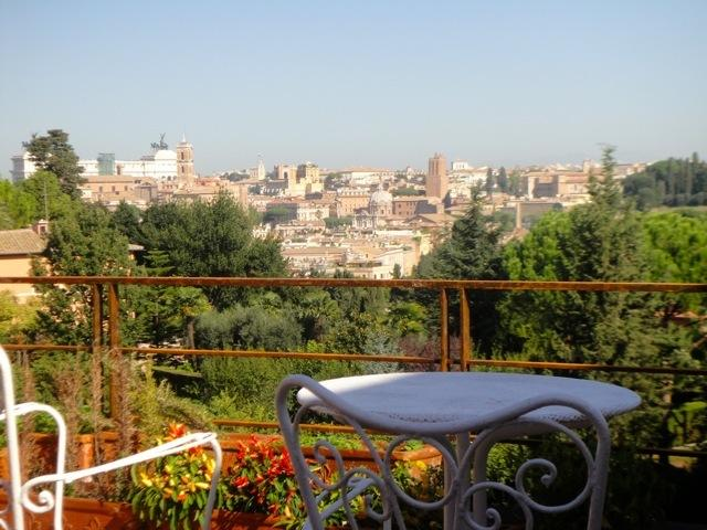Aventino penthouse 2 bedrooms - panoramic view