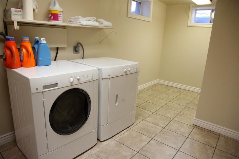 Salle de lavage pour rafraîchir vos vêtements sur un long séjour