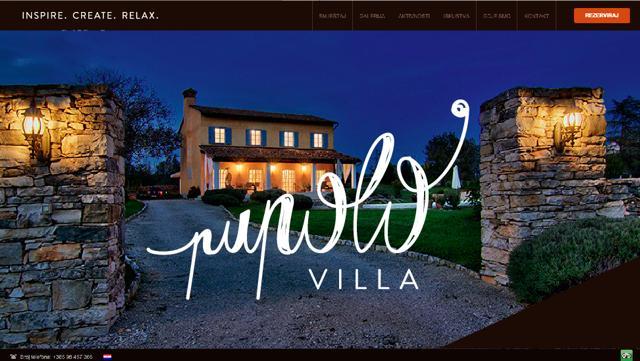 Villa Pupolo with pool Groznjan -Istra Croatia, holiday rental in Vizintini Vrhi