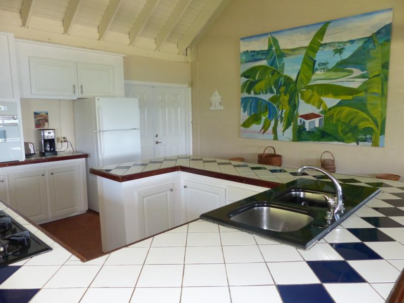 Bayview kitchen,large and spacious, open to the great room & view