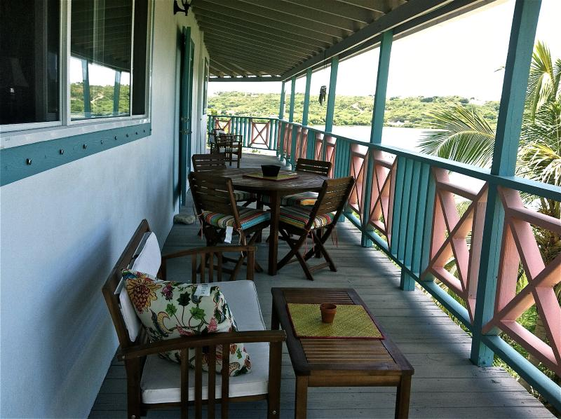 shady and breezy, an old fashioned veranda