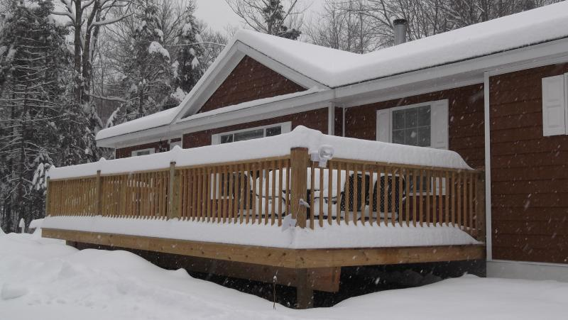 MT SNOW NEW SKI HOME W/E-WEEK-MONTHLY or SEASON  3 BR 2 Bath  1.1 TO Mtn parking, location de vacances à Wardsboro