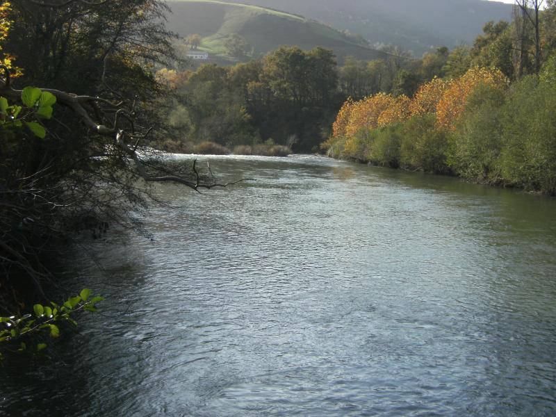 Rivière à 100mètres