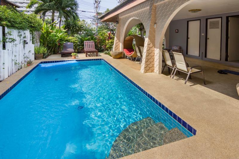 Beach location villa