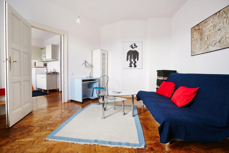 Cozy apartament in city center Kraków 1-4 + Wifi, holiday rental in Zelkow