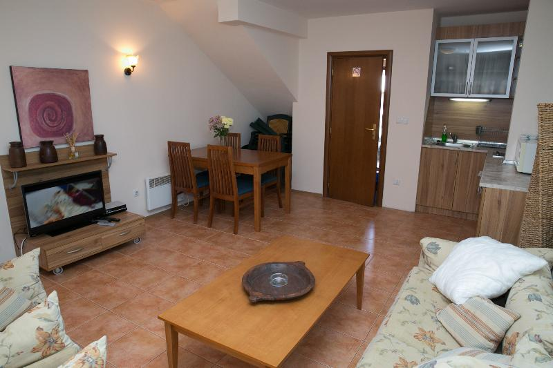Sleeps 6 - Large spacious and light living area.  Netflix, DVD, WiFi, log fire, private entrance